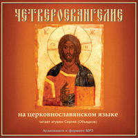 Библия. Новый Завет: Четвероевангелие на церковнославянском языке
